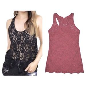 Aritzia Wilfred Lace Top